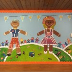 Reception Mural at The Pines